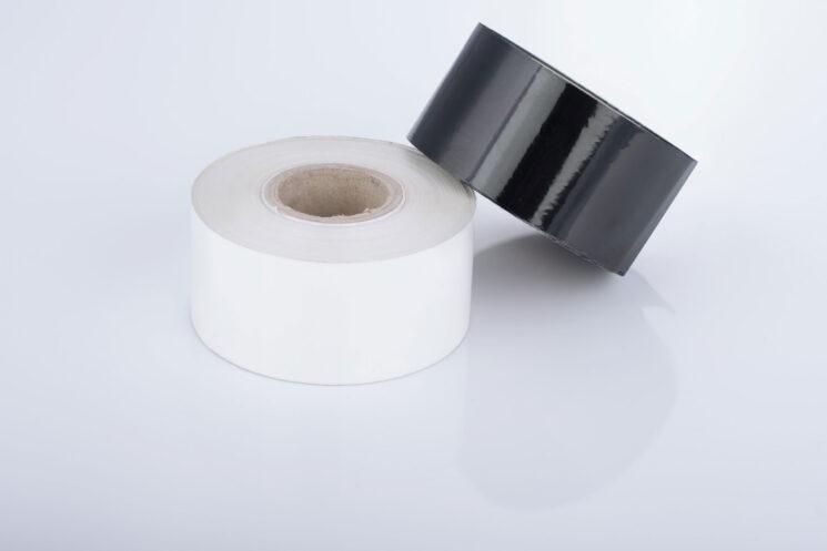 Farbband aus hochwertigen Wachs hergestellt, schwarz und weiß